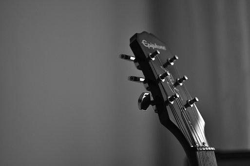 Guitar, Guitar Strings, Music, Instrument, Musical