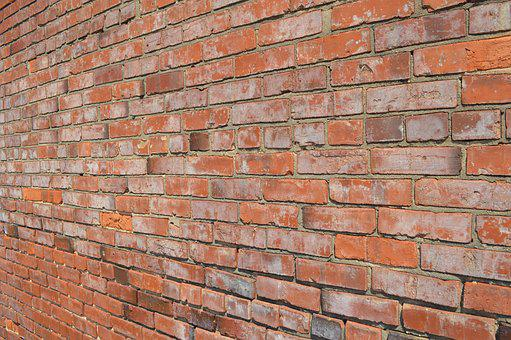 Brick, Wall, Pattern, Orange, Red, Brown, Building