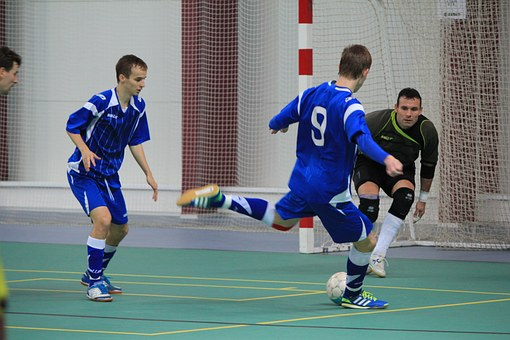 Futsal, Amateur, Ball, Hall, Play, Sport, The Player