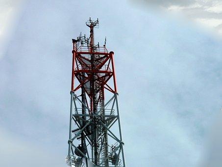 Radio Mast, Mobile, Transmission Tower