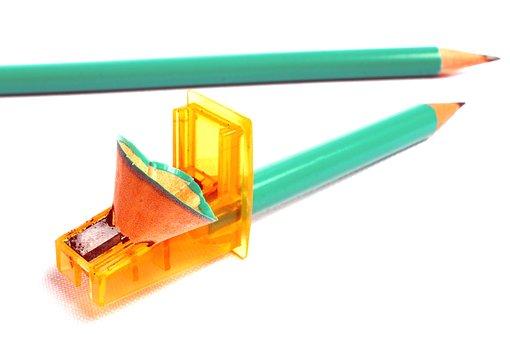 Pencil Sharpener, Pencil, Pencil Tip, School
