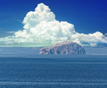 Bass Rock, Sea View, Firth Of Forth, East Lothian