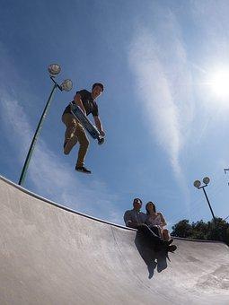 Skate, Board, Skateboard, Skateboarding, Skateboarder