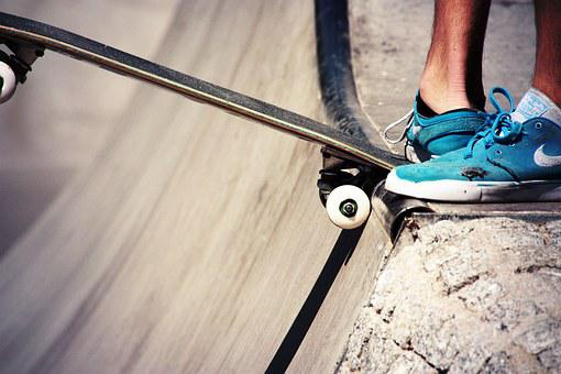 Sports, Skate, Sport, Teens, Together, Shoes, Feet
