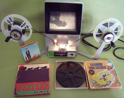 Super 8 Movie, Film Viewer, Amateur Theater