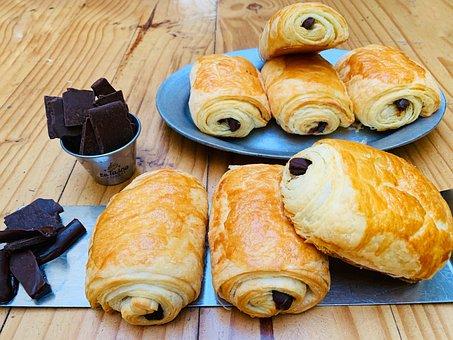 Chocolate, Pan Aux Chocolate, Bakery, Chocolate Bread