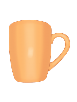 Cup, Cup Orange, Frets, Coffee, Cup Of Coffee