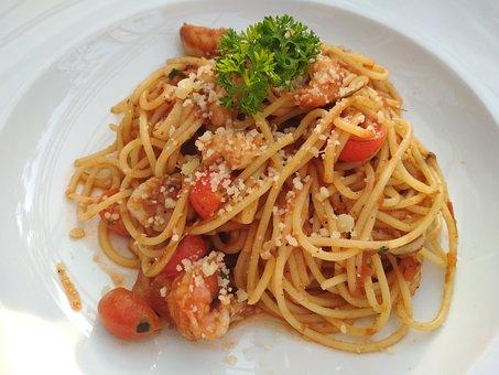 Spagetti, Petuccini, Food, Noodles
