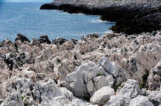 Sea, Var, Azur, Roche, Hiking, Ballad, France, Toulon