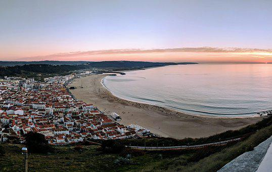 Nazare, Portugal, Sea, Beach, Coast, Nazaré, Ocean