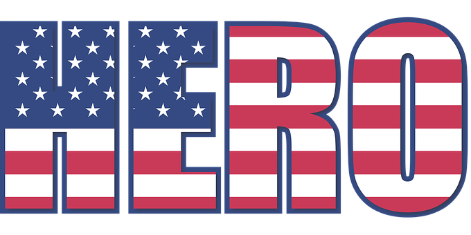 Hero, 4Th, Flag, Stripes, Stars, Stripe