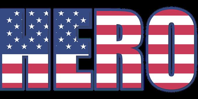 Hero, 4th, Flag, Stripes, Stars, Stripe, Red, White