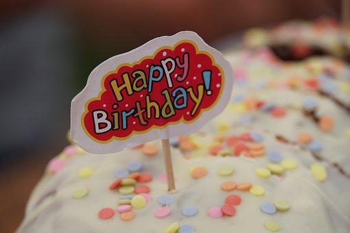 Birthday, Cake, Celebration, Sweet, Happy Birthday