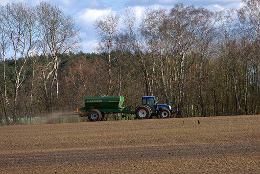 Agriculture, Tractors, Tractor, Trailers