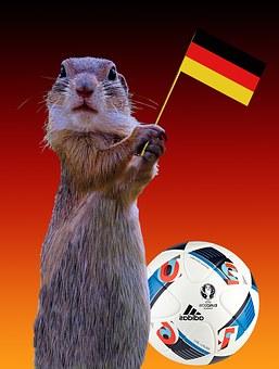 2016, Germany Flag, European Championship, Flag