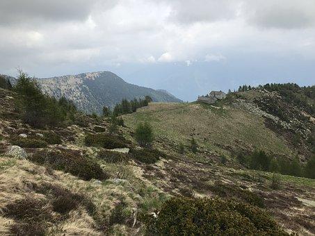 Hut Mognone, Alpine Route, Alps, Alpine, Adventure