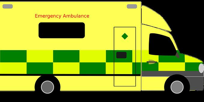 British Ambulance, Vehicle, Emergency