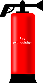 Fire, Extinguisher, Red, Foaming, Foam