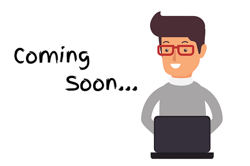 Coming Soon Person, Laptop Coming Soon
