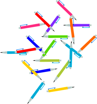 Pen, Pencil, Color, Write Tool