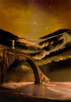 Bridge Of Regret, Bridge, Regret, Remorse, Night