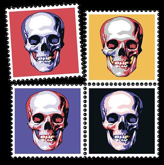 Skull, Bone, Skeleton, Head, Smile, Smile Skull
