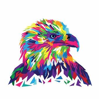 Eagle, Eagle Vector, Vector Illustration, Eagle Head