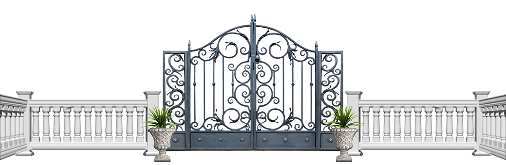Cutout, Clip, Gate, Fence, Bannister, Balustrade