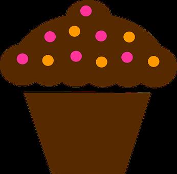 Cup Cake, Brown, Cake, Chocolate, Dessert, Food, Sweet