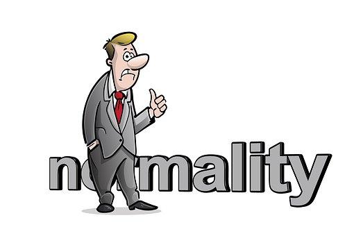 Normality, Curmudgeon, Thumb, Bad Mood, Caricature