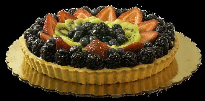 Fruit, Tart, Dessert, Sweet, Food, Cake, Pie, Delicious