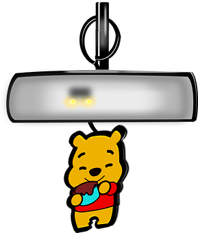 Rear-view Mirror, Interior Mirror, Inside Mirror