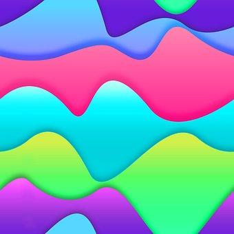 Lines Curves, Colors, Geometric, Lines