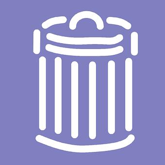 Trashcan, Litterbasket, Litter, Trash