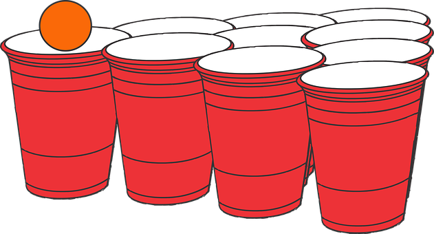 Beer Pong, Pong, Frat Party, Party, Solo Cup, Red Party