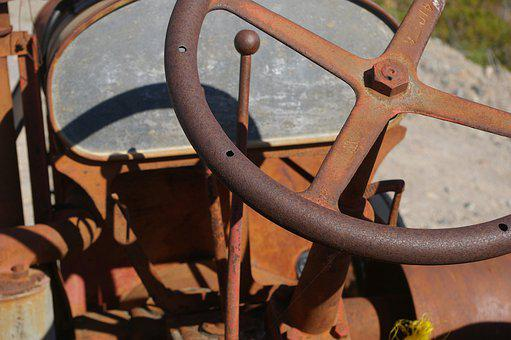 Rust, Machinery, Old, Metal, Antique, Equipment, Rusted