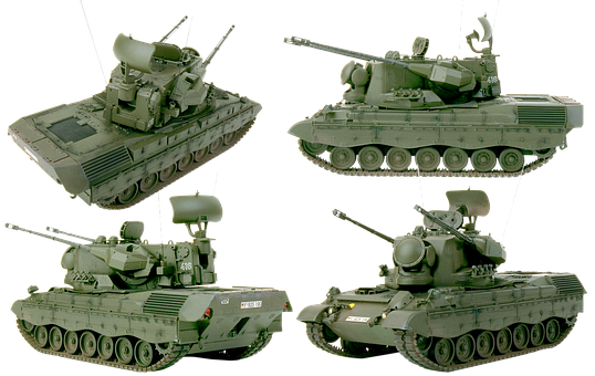 Zsu Gepard, Nato, Military Equipment