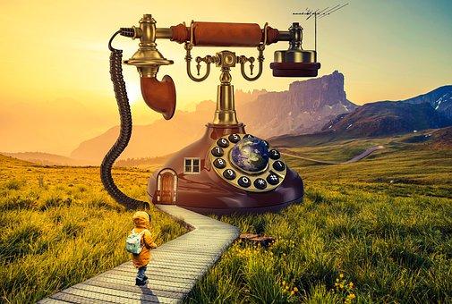 Telephone, Design, Wallpaper, Earth, Old
