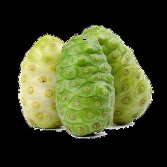 Noni Fruit, Green, Juicy, Juice, Fruit