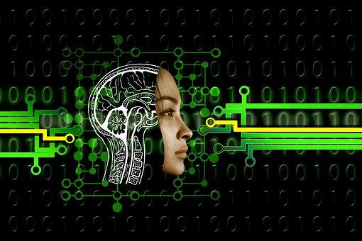 Face, Board, Binary, Artificial Intelligence, Brain