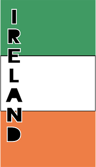 Ireland, Country Flag, Banner, Bunting, Summer Olympics