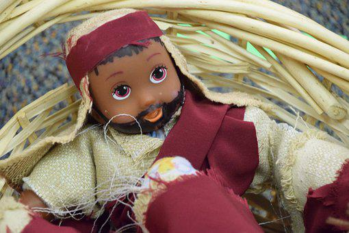 Doll, Bearded Doll, Christmas, Toy