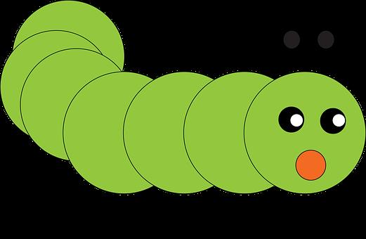 Caterpillar, Emoji, Emoticon, Surprised, Shocked