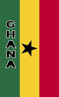 Ghana, Country Flag, Banner, Bunting, Summer Olympics