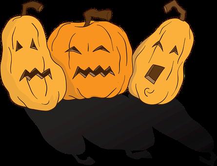 Pumpkins, Halloween, Pumpkin, Terrible