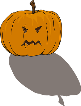 Pumpkin, Halloween, Terrible, October