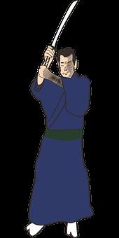Samurai, Katana, Sword, Weapon, Japanese, Asia, Japan