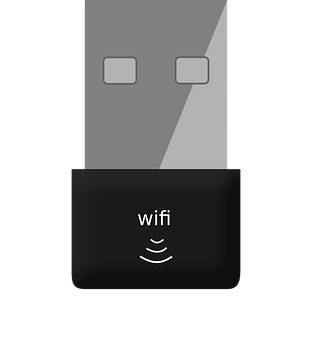 Wifi, Dongle, Usb, Wireless, Adapter, Network, Pc