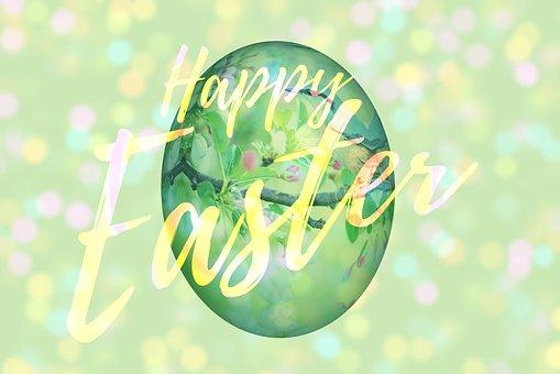 Easter, Easter Greeting, Greeting Card, Egg, Easter Egg