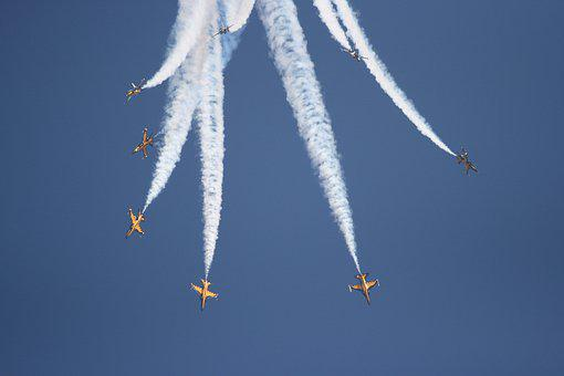 Aircraft, Military, Airshow, Jet